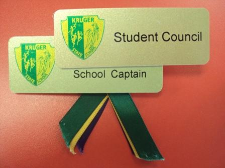 School Leader, House Captains and Student Council Representatives